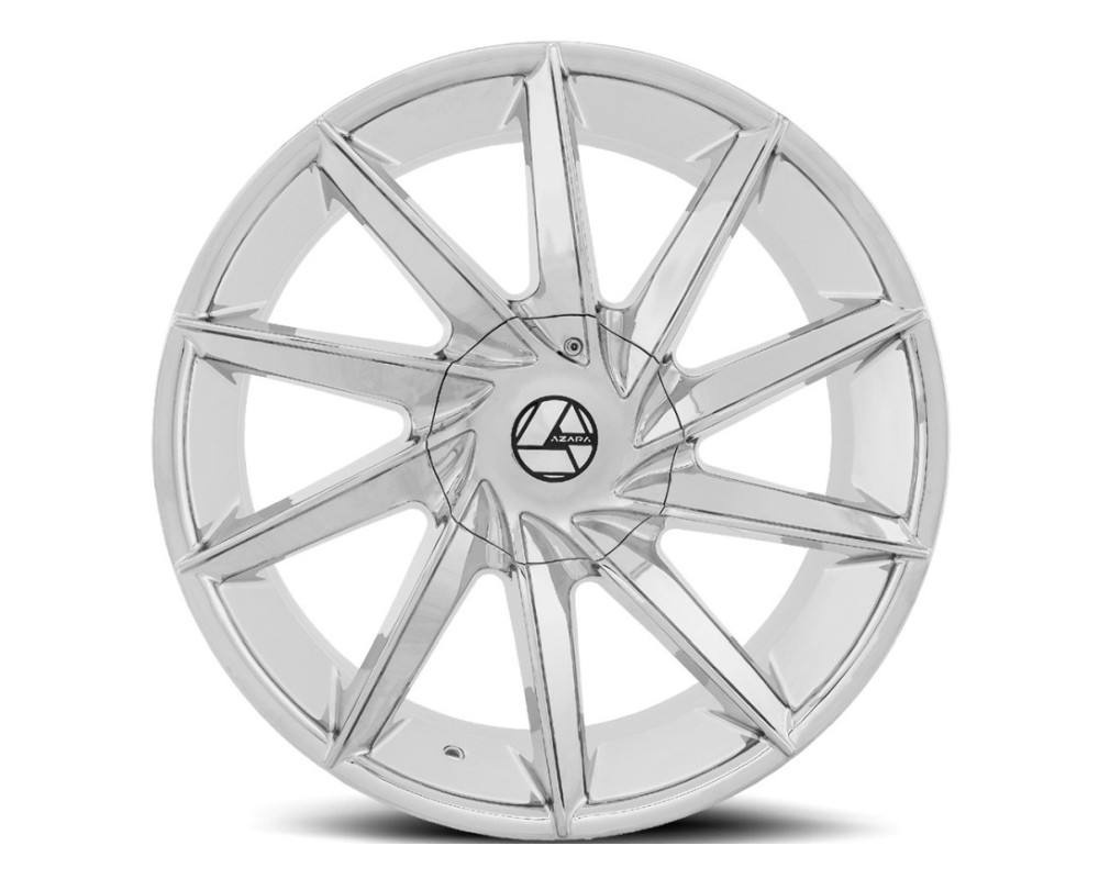 Azara 506 Wheel 30x9.5 Blank 15mm Chrome