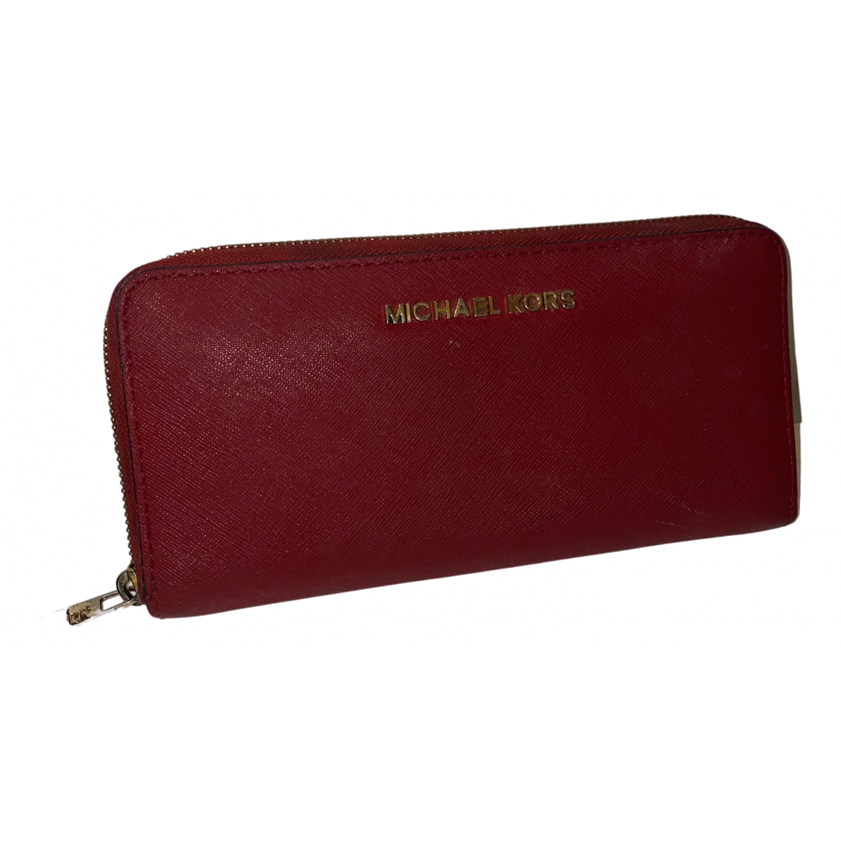Michael Kors \N Red Leather wallet for Women \N