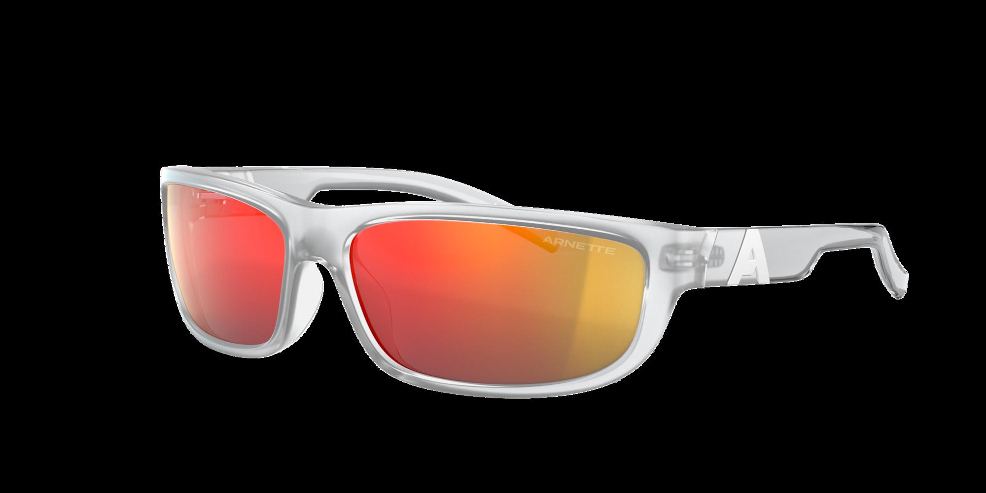 Arnette Unisex  AN4275 NEURALIZER -  Frame color: Klar, Lens color: Orange verspiegelt, Size 63-15/125