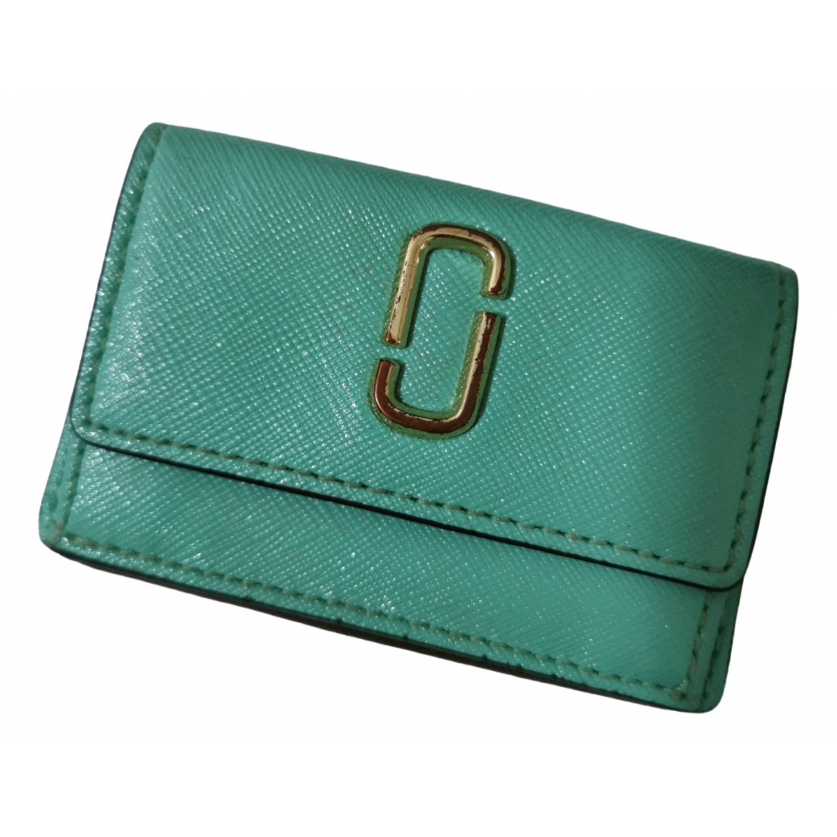 Marc Jacobs \N Turquoise Leather wallet for Women \N