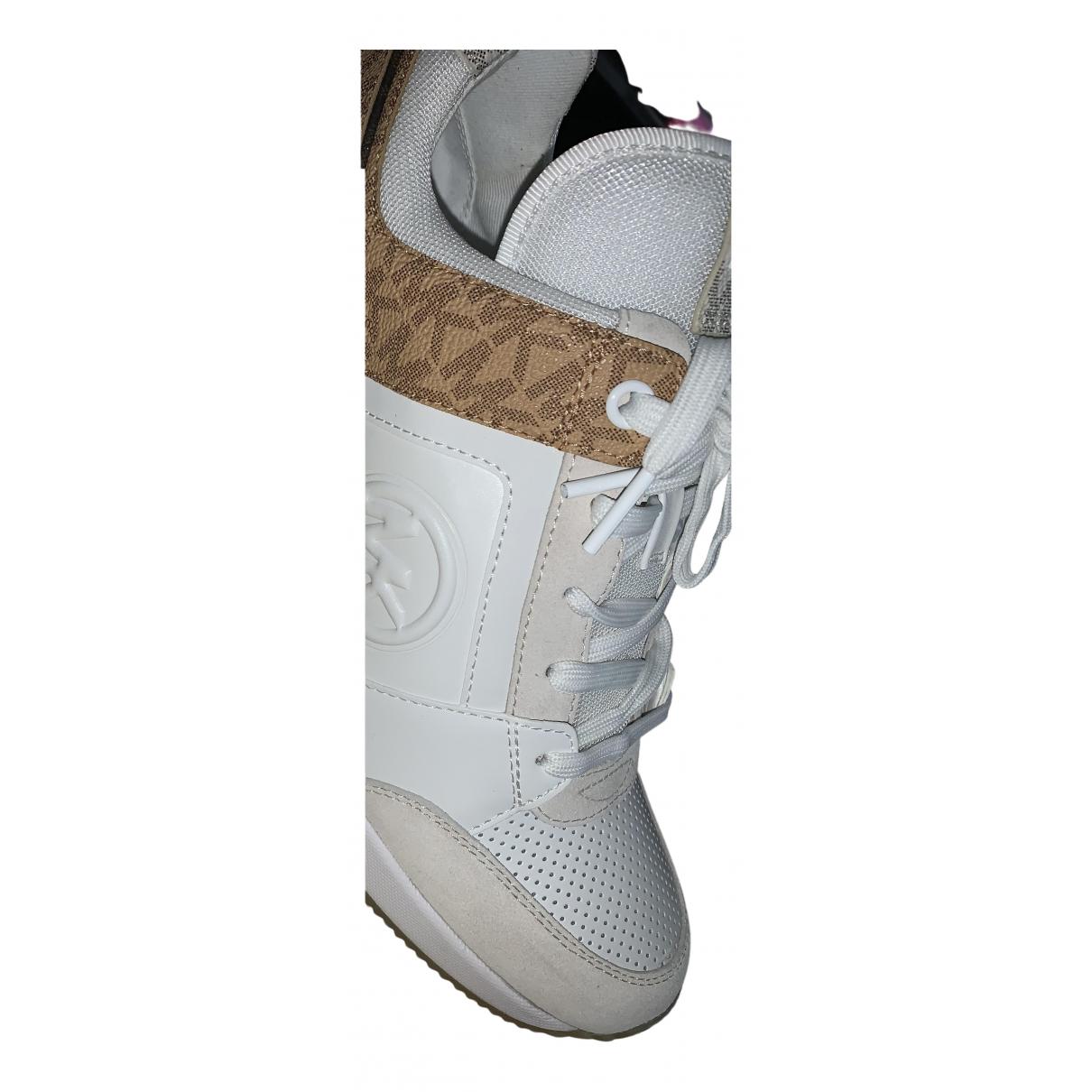 Michael Kors \N Sneakers in  Weiss Leder