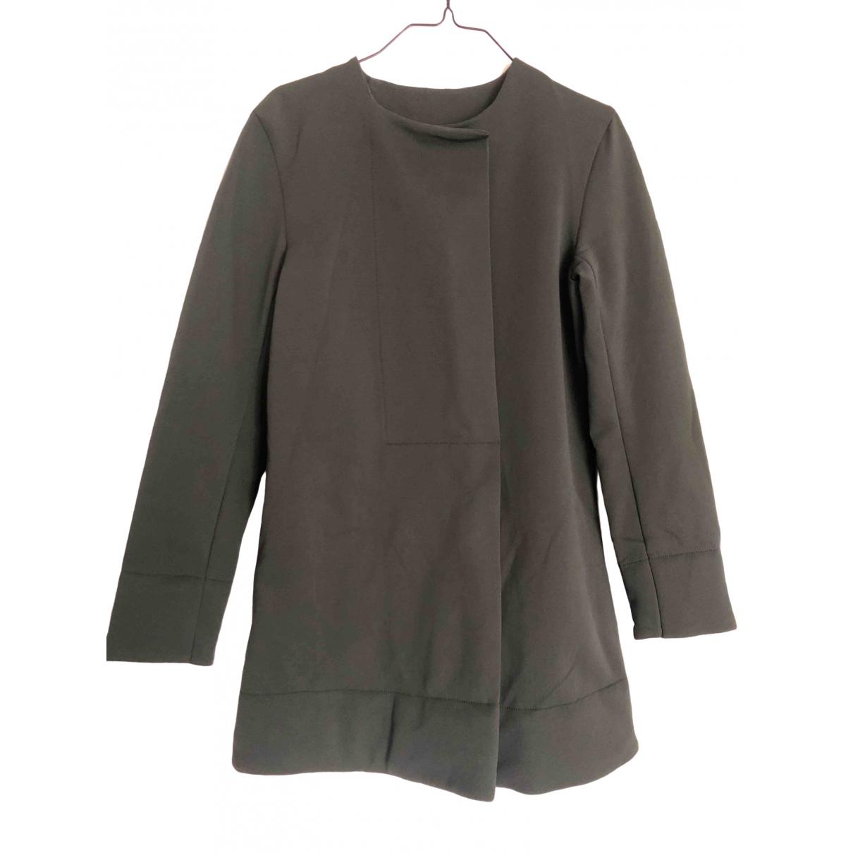 Acne Studios \N Kleid in  Khaki Polyester