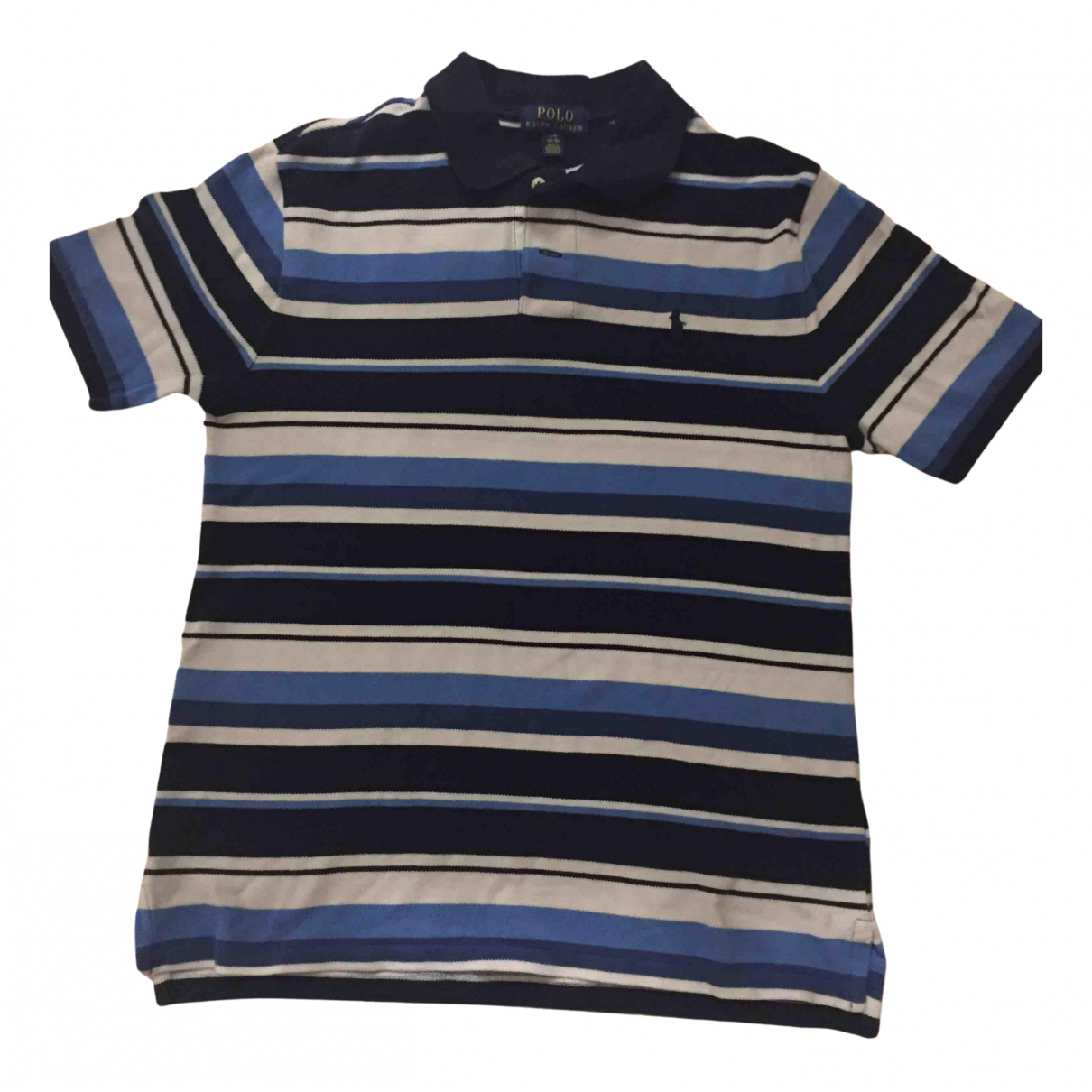 Polo Ralph Lauren N Blue Cotton  top for Kids 16 years - M FR