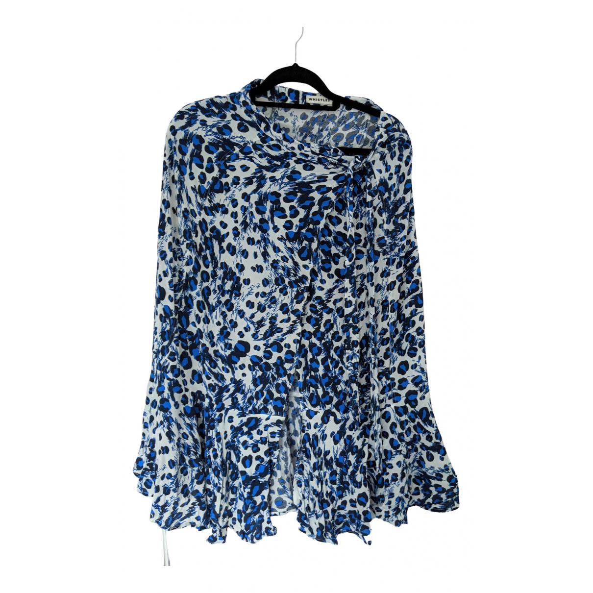 Whistles \N Rocke in  Blau Baumwolle