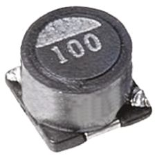 TDK , SLF, 6028 Shielded Wire-wound SMD Inductor 100 μH ±20% Wire-Wound 640mA Idc (10)