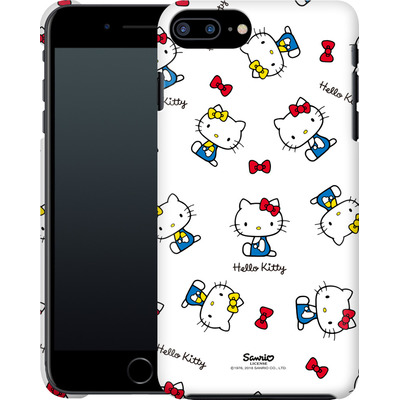 Apple iPhone 8 Plus Smartphone Huelle - Hello Kitty and Mimmy Pattern von Hello Kitty