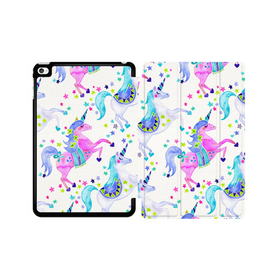 Apple iPad mini 4 Tablet Smart Case - Unicorns Pastel von Cat Coquillette
