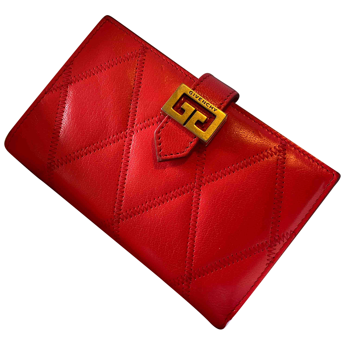 Givenchy GV Red Leather Purses, wallet & cases for Women N