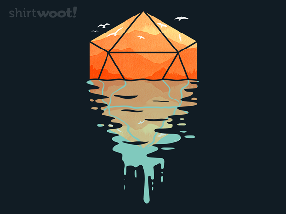 D20 Reflection T Shirt