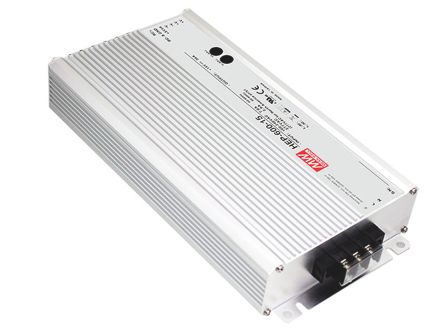 Mean Well , 600W Embedded Switch Mode Power Supply SMPS, 24V dc, Enclosed