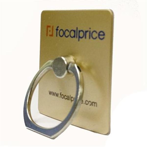 Metal Ring Holder Mobile Phone Stand Support For Smartphones/Tablets -Gold