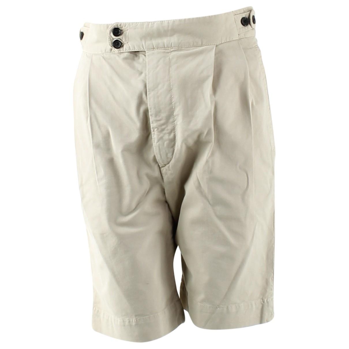 Joseph - Short   pour femme en coton - beige