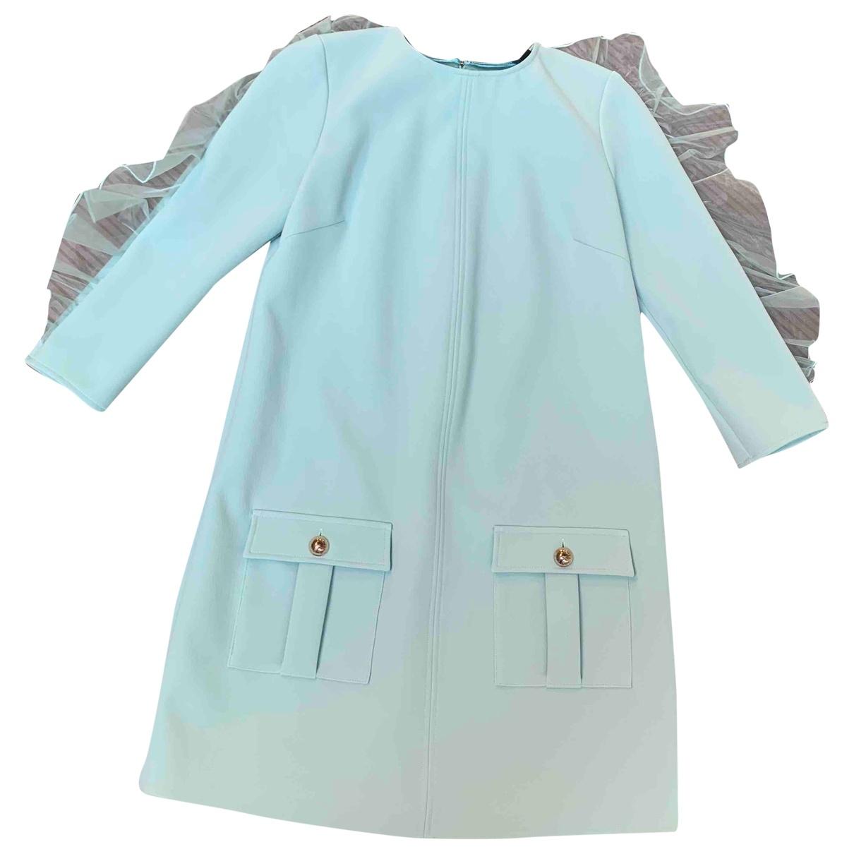 Elisabetta Franchi \N Turquoise dress for Women 42 IT