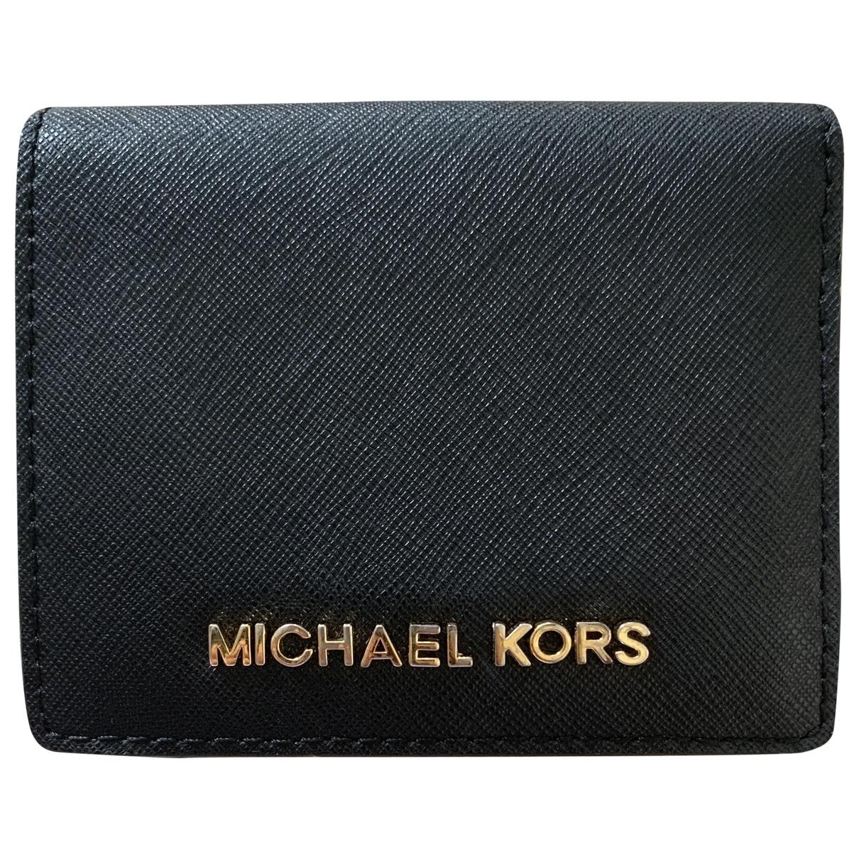 Michael Kors - Portefeuille   pour femme en autre - noir