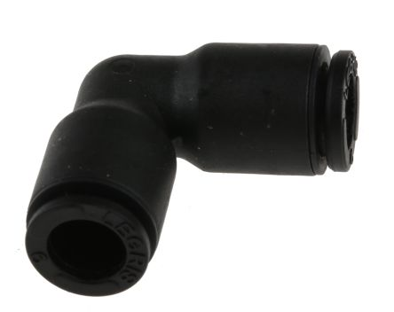 Legris Pneumatic Elbow Tube-to-Tube Adapter Push In 6 mm to Push In 6 mm (5)