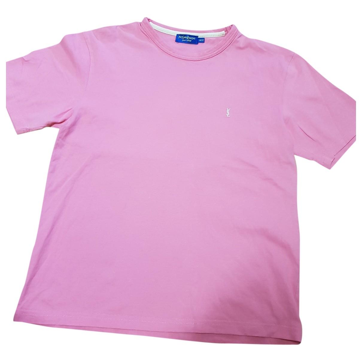 Yves Saint Laurent - Top   pour enfant en coton - rose
