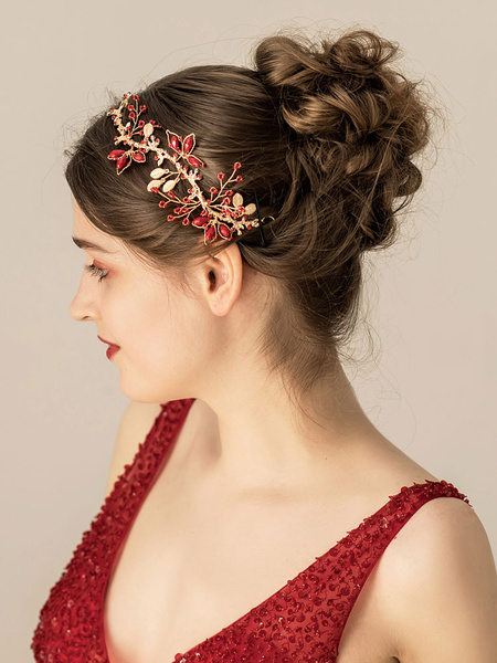 Milanoo Headpiece Wedding Metal Hair Accessories For Bride