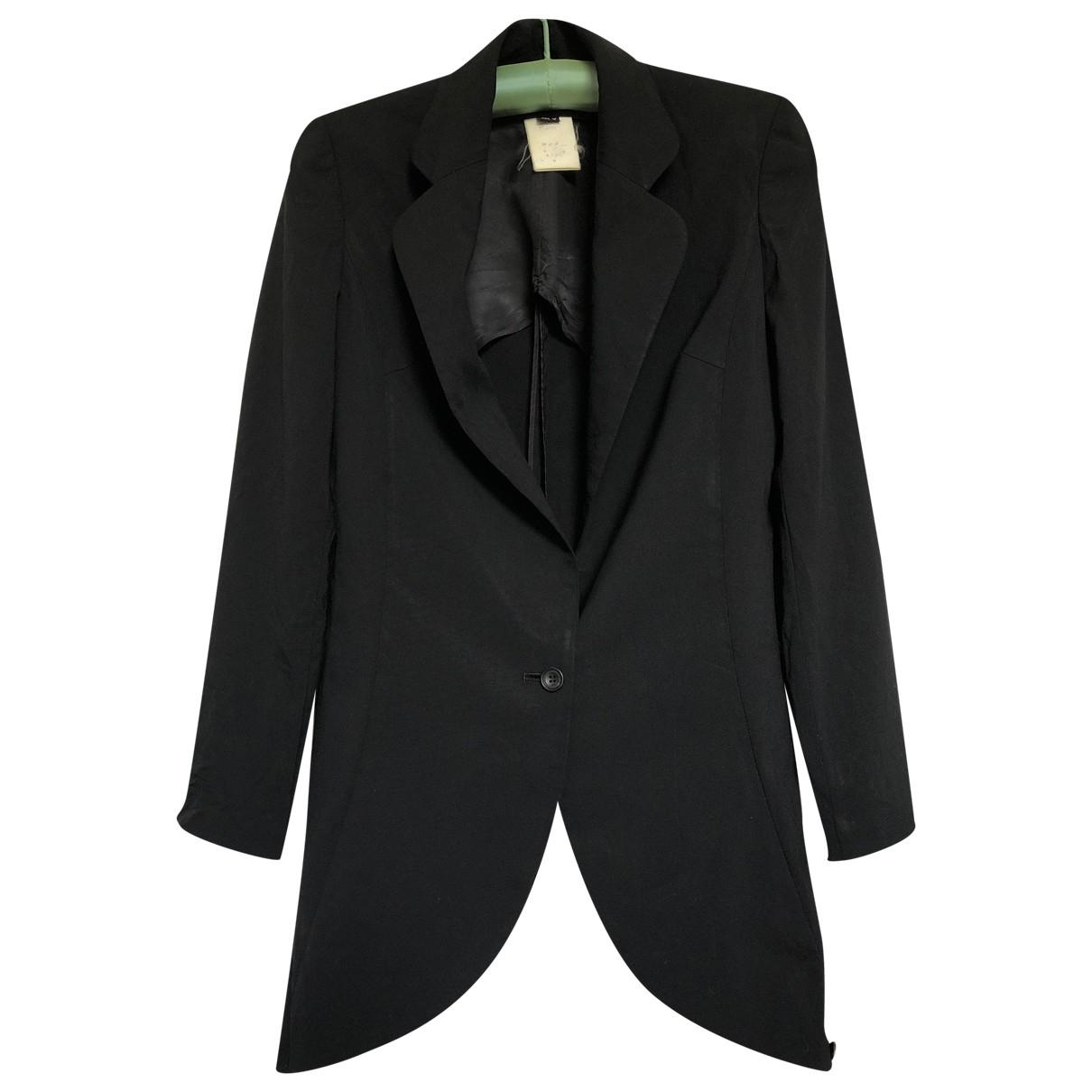 Atsuro Tayama - Veste   pour femme en laine - noir