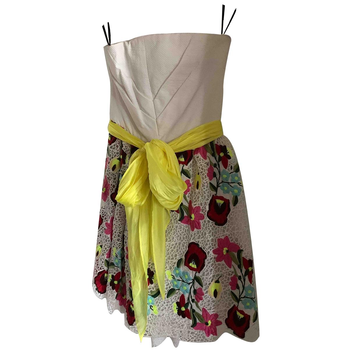 Manoush - Robe   pour femme en coton - multicolore