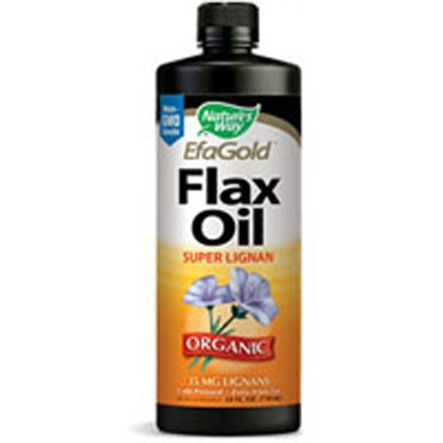 Flax Oil SUPER LIGNAN, 16 OZ by Nature's Way