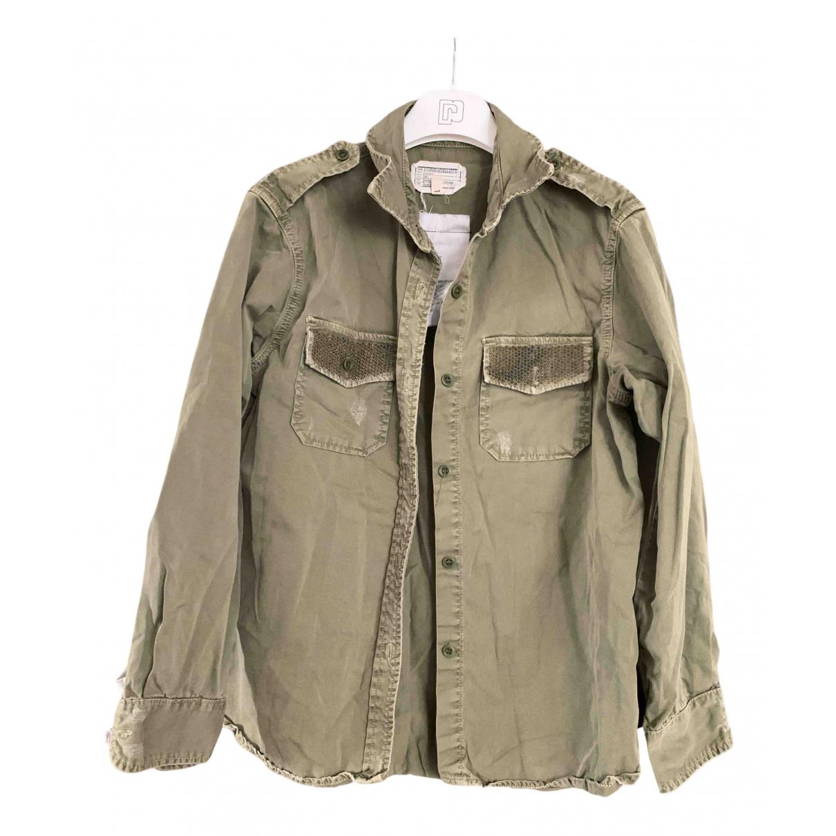 Current Elliott - Top   pour femme en coton - gris