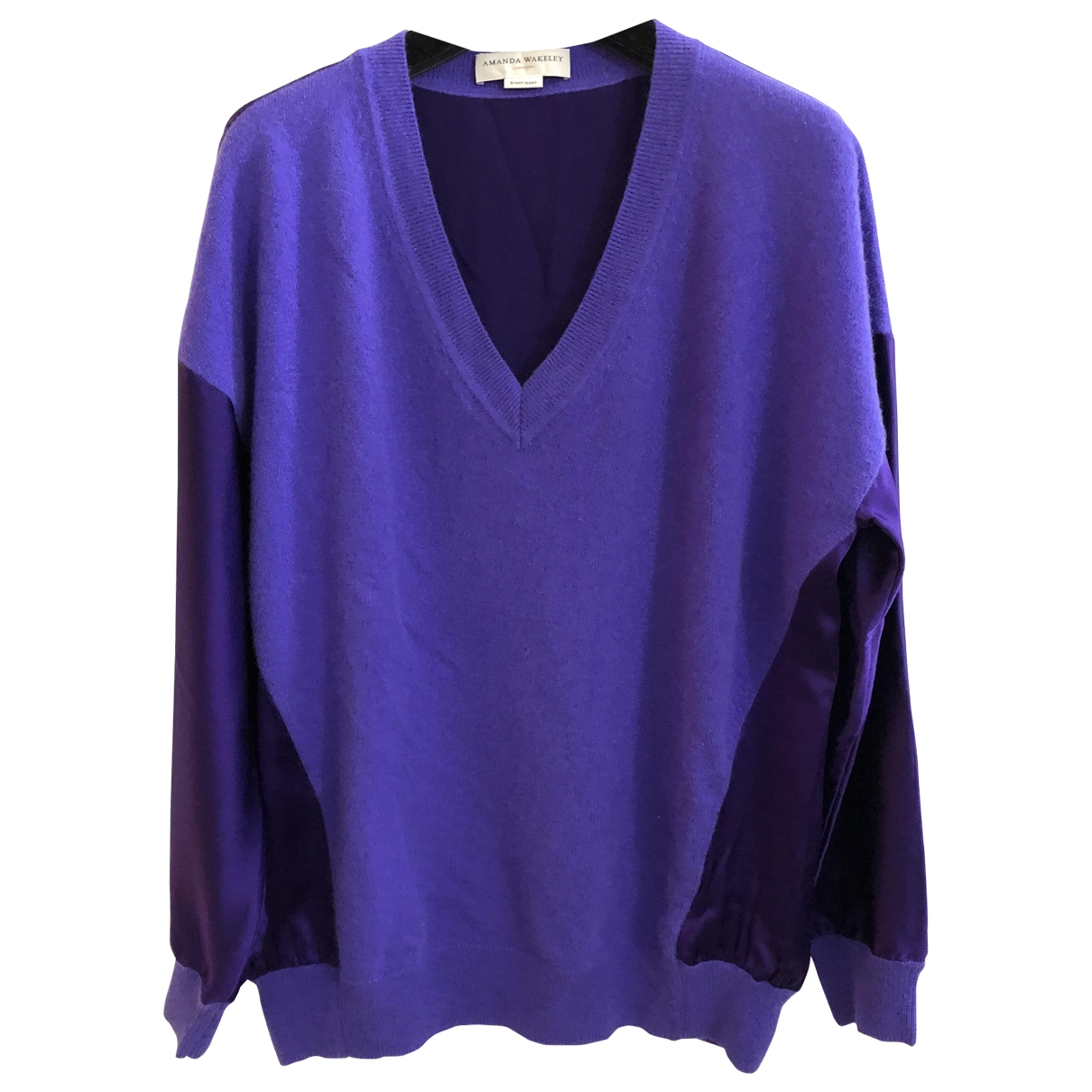 Amanda Wakeley \N Purple Cashmere Knitwear for Women XS International