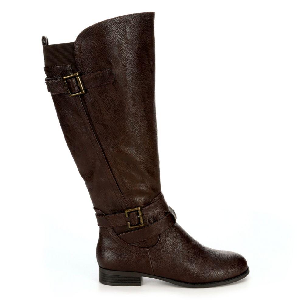 Lifestride Womens Francesca Wide Calf Riding Boot