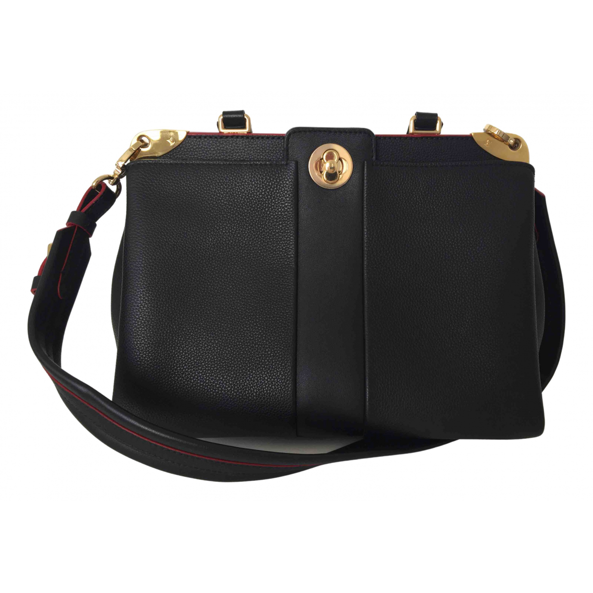 Louis Vuitton Astrid Black Leather handbag for Women \N
