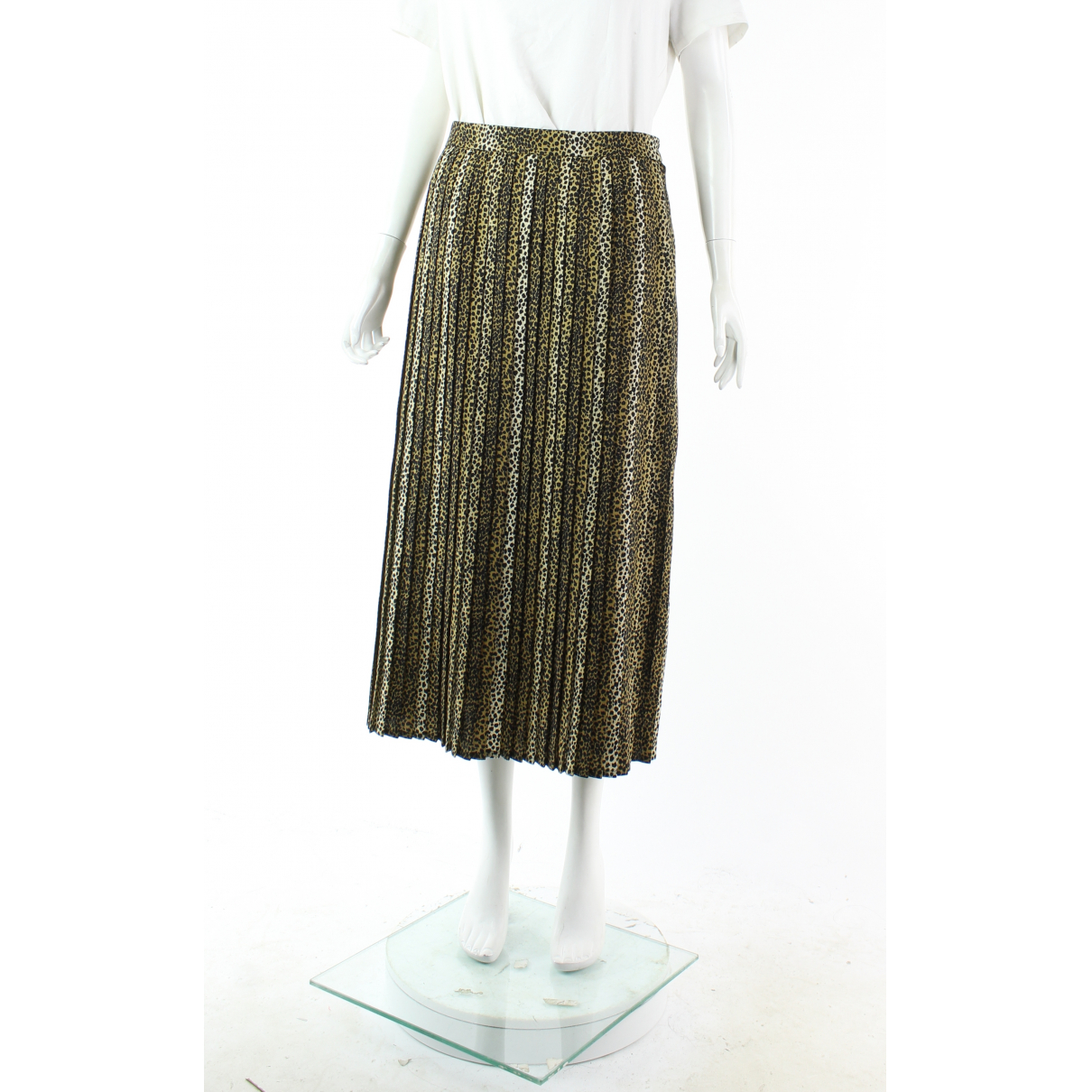 Celine N Brown Wool skirt for Women 38 FR