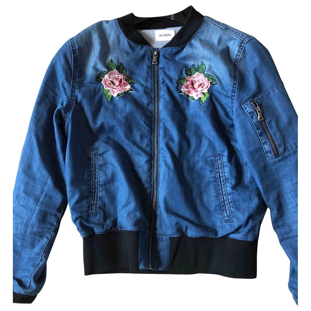 Hudson - Blousons.Manteaux   pour enfant en denim - bleu