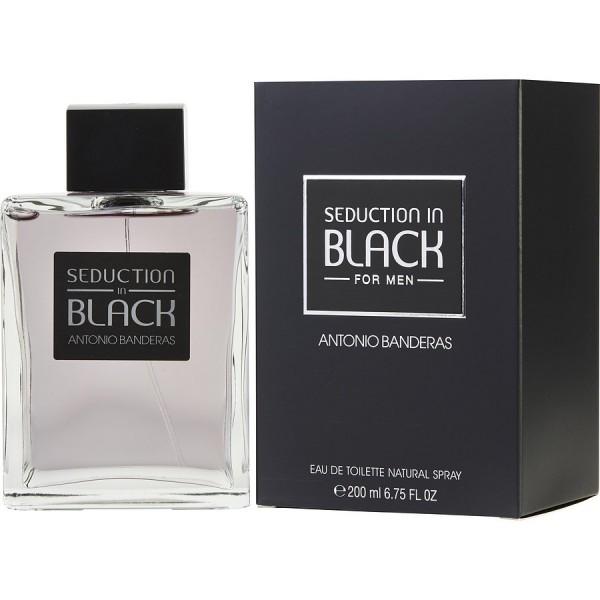 Seduction In Black - Antonio Banderas Eau de toilette en espray 200 ml
