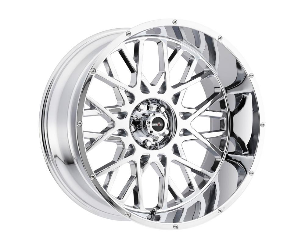 Vision Rocker Chrome Wheel 20x9 5x150 12