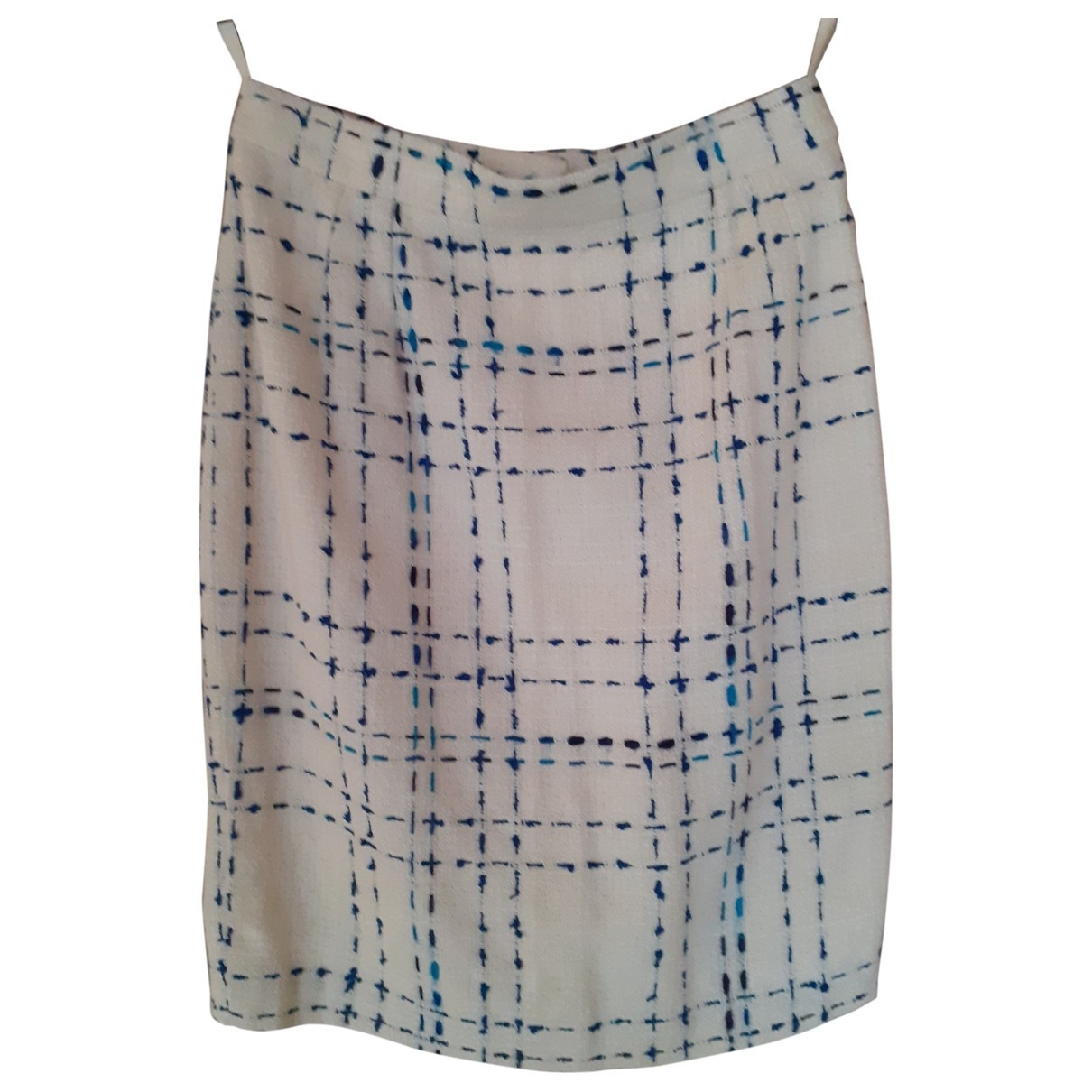 Valentino Garavani \N Ecru Linen skirt for Women S International