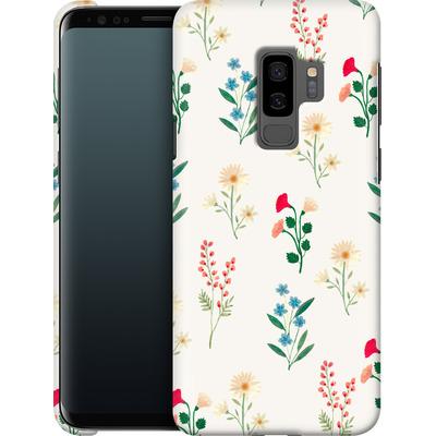 Samsung Galaxy S9 Plus Smartphone Huelle - Leafy Green von Iisa Monttinen