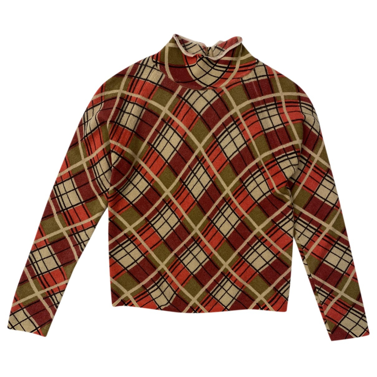 Blumarine - Top   pour femme en laine - multicolore