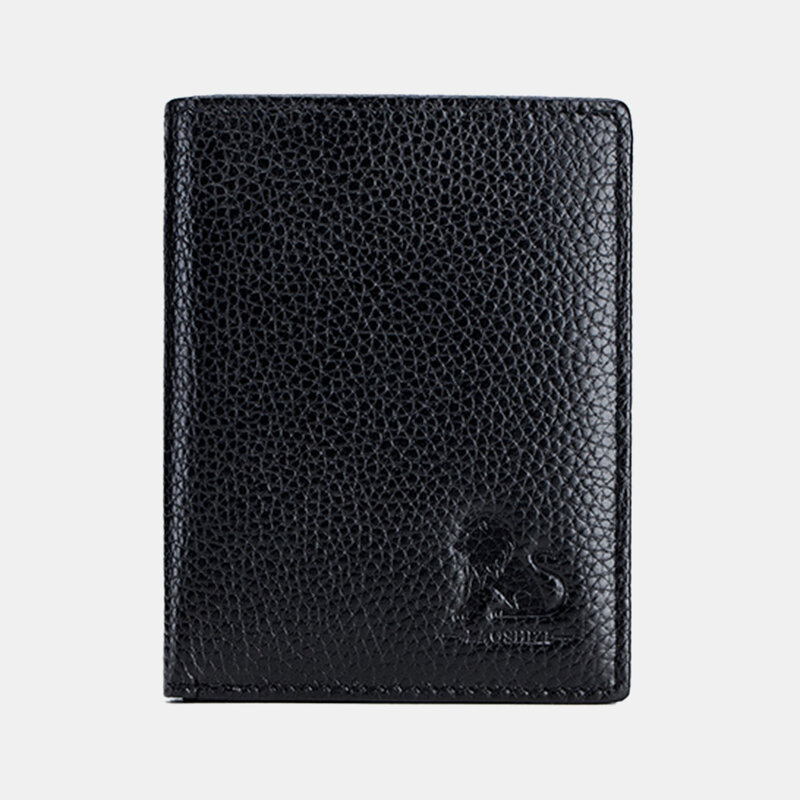 Men Short Wallets Zipper 9 Card Holder Coin Purse