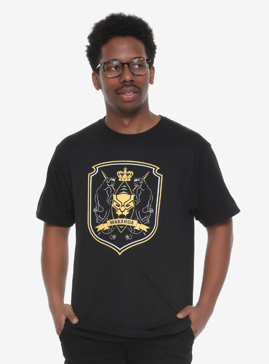 Marvel Black Panther Wakanda Crest T-Shirt - BoxLunch Exclusive