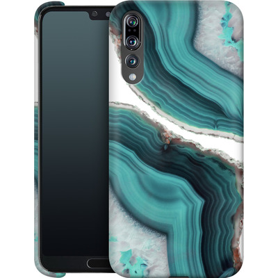 Huawei P20 Pro Smartphone Huelle - Sea Agate von Emanuela Carratoni
