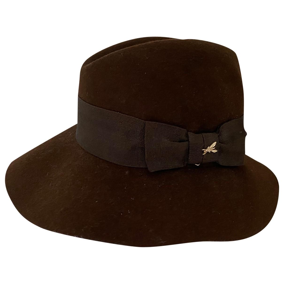 Patrizia Pepe \N Brown Wool hat for Women M International