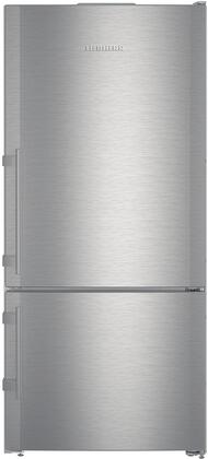 CS1400RIM 30 Energy Star Rated Freestanding Right Hinge Bottom Freezer Refrigerator with 12.8 cu. ft. Total Capacity  Ice Maker  DuoCooling  and 3