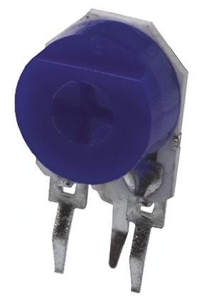 Bourns 500kΩ, Through Hole Trimmer Potentiometer 0.5W Side Adjust , 3309 (10)