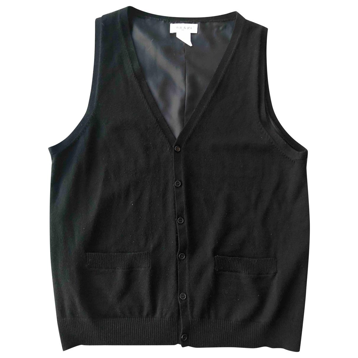 Paul & Joe \N Black Wool Knitwear & Sweatshirts for Men XL International