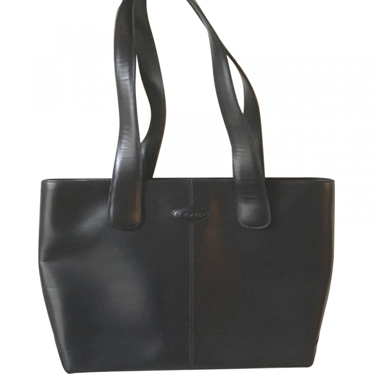 Tod's \N Navy Leather handbag for Women \N