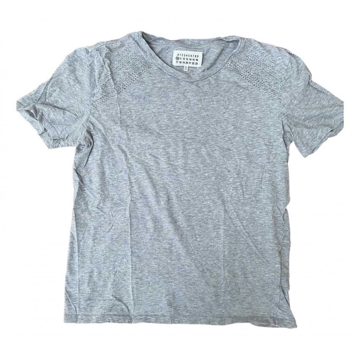 Maison Martin Margiela \N T-Shirts in  Grau Baumwolle