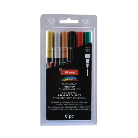 Premium Fine Tip Oil-Based Paint Pens By Craft Smart® | Michaels®