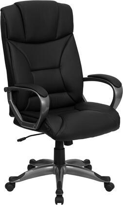 BT-9177-BK-GG High Back Black Leather Executive Office