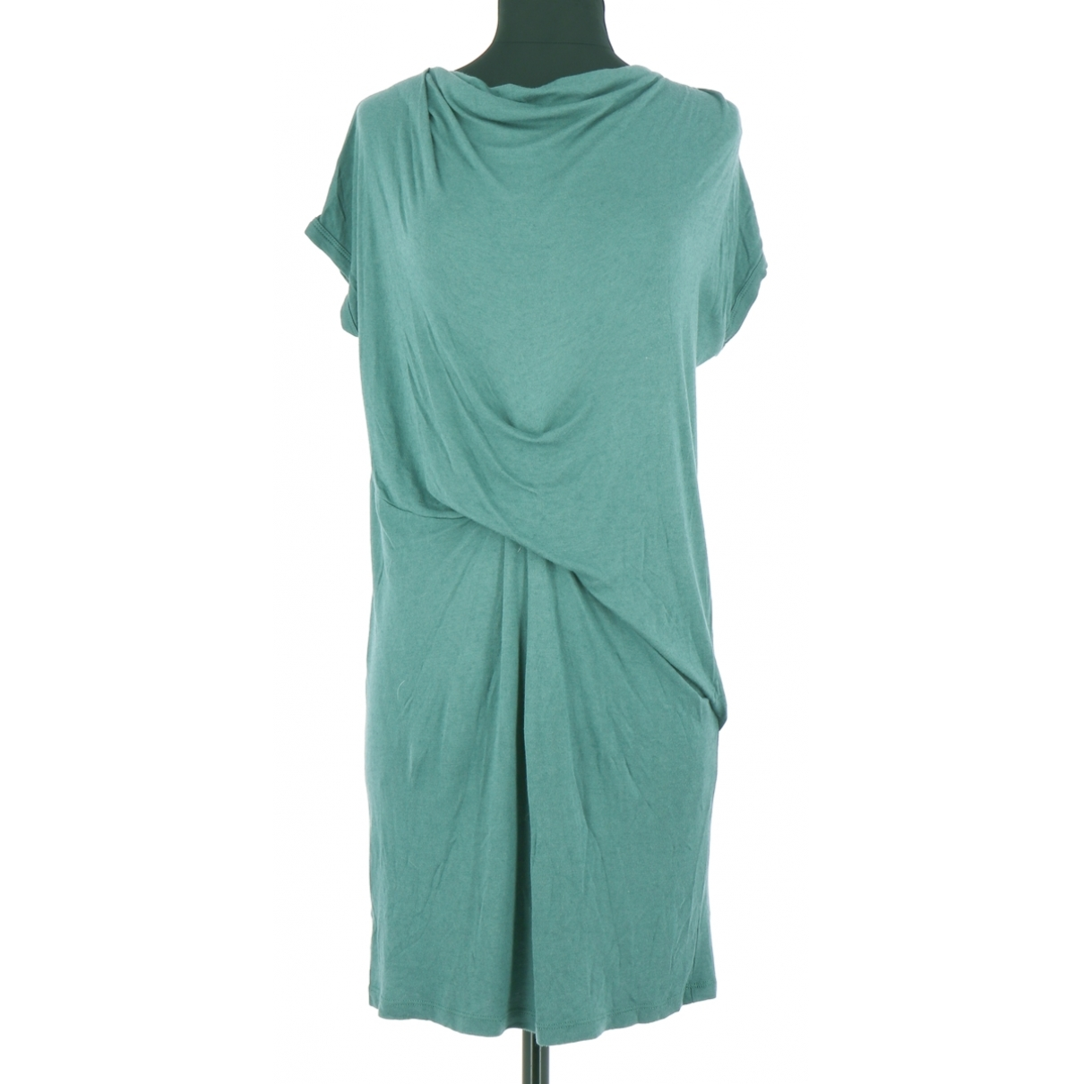 American Vintage - Robe   pour femme en coton - bleu