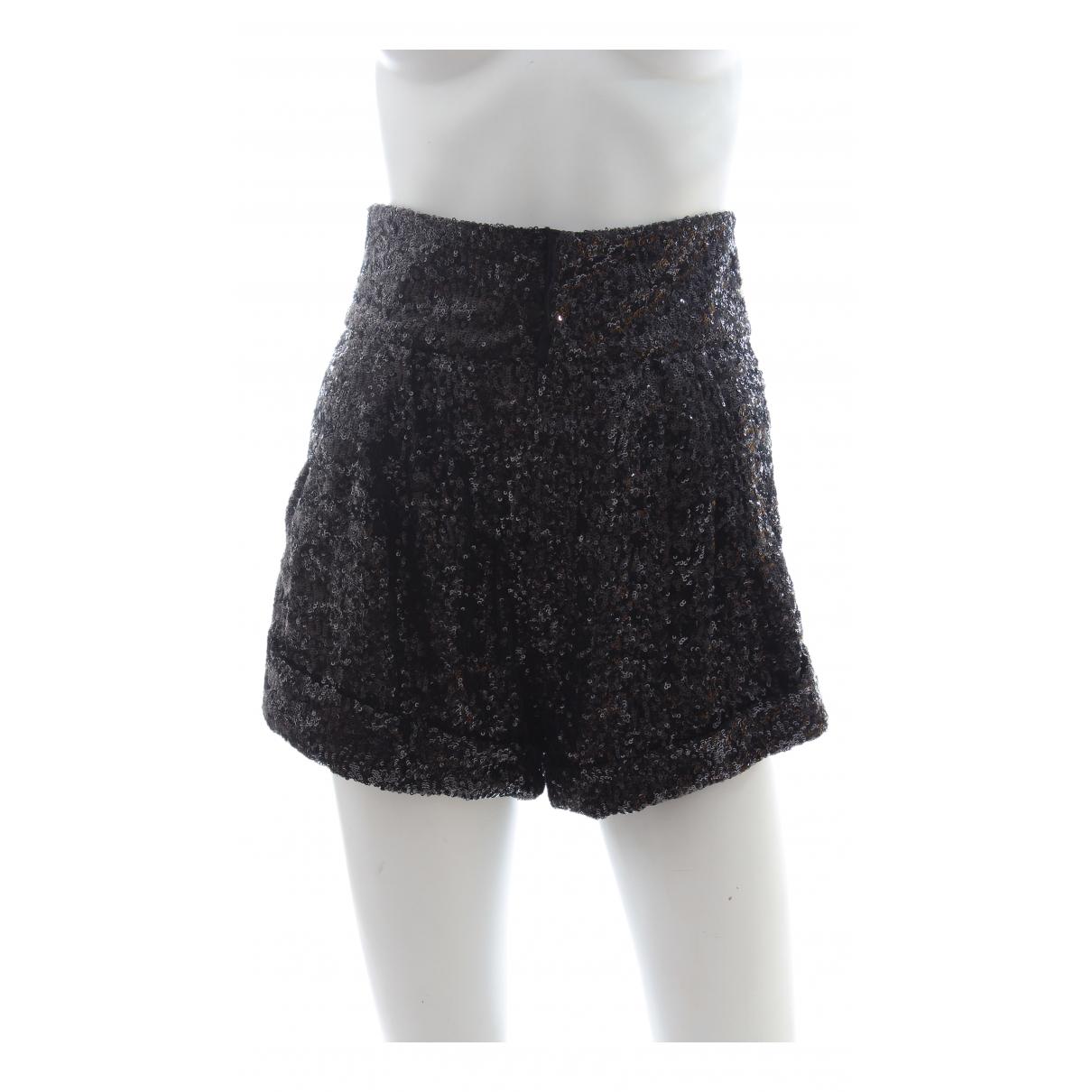 Isabel Marant \N Shorts in  Schwarz Polyester
