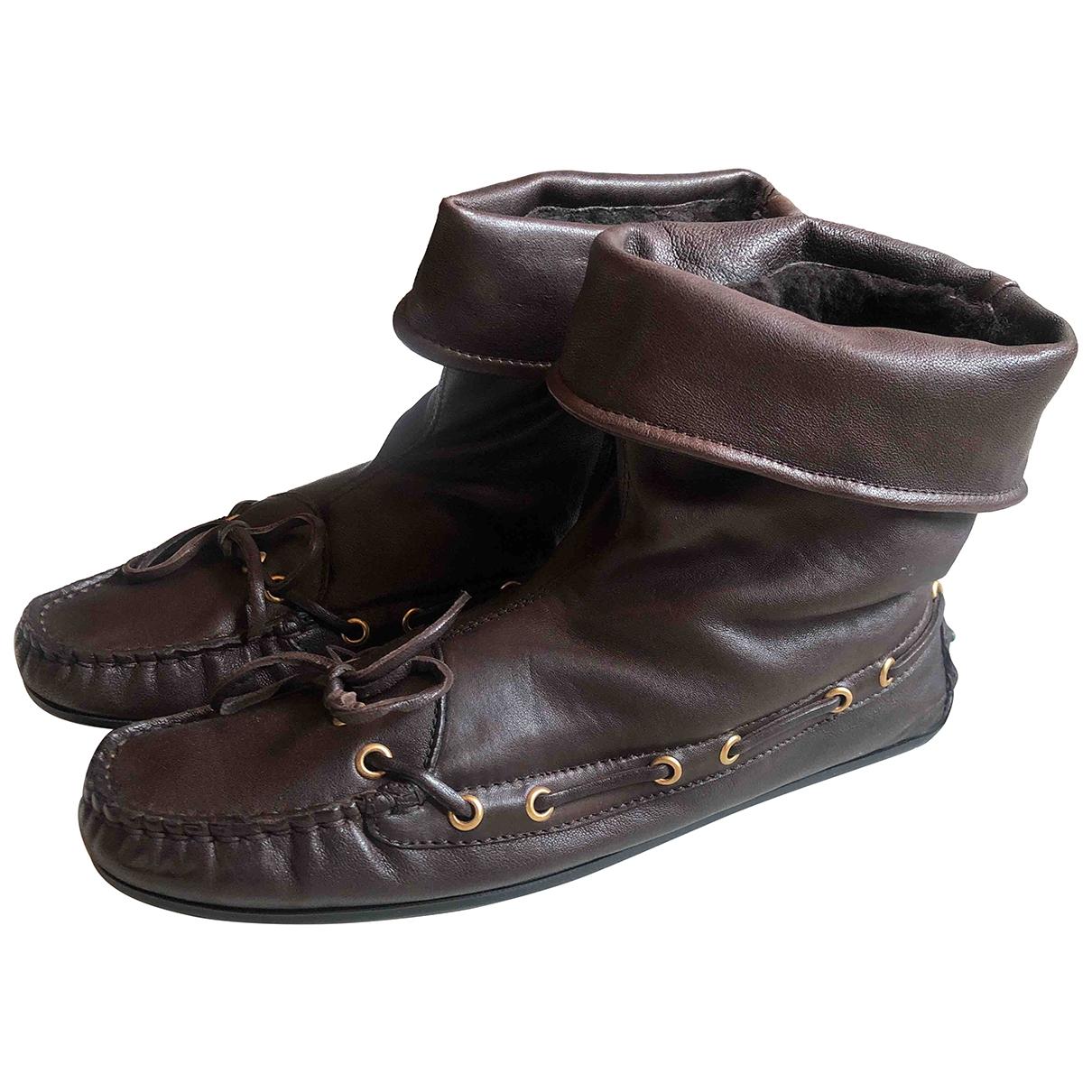 Botas de Cuero Serafini