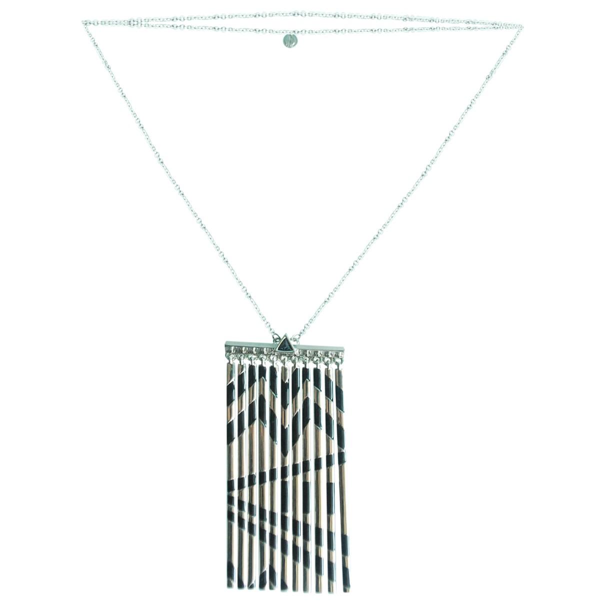 House Of Harlow \N Halskette in  Silber Metall